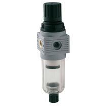Filtre régulateur à air comprimé / vertical / fileté / semi-automatique