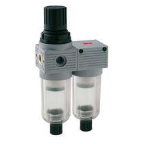Filtre régulateur à air comprimé / vertical / miniature / coalesceur