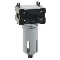 Filtre à air comprimé / à panier / vertical / semi-automatique