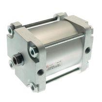 Vérin à piston magnétique / double effet / compact / à tirants