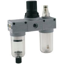 Filtre régulateur lubrificateur à air comprimé / vertical