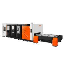 Machine de découpe pour l'aluminium / d'acier inoxydable / laser à fibre / CNC