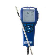 Anémomètre à fil chaud / à sondes multiples / hygromètre / portable