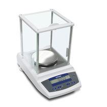 Balance d'analyse / de laboratoire / avec afficheur LCD / en acier inoxydable
