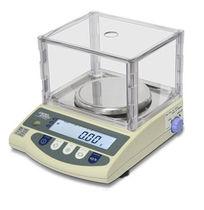 Balance de laboratoire / avec afficheur LCD / en acier inoxydable / étanche