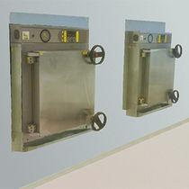 Autoclave de laboratoire / grande capacité / traversant à double porte / à chargement frontal