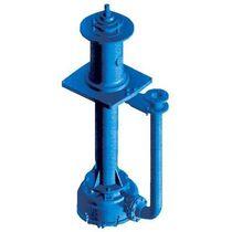 Pompe à boue / électrique / semi-immergée / centrifuge