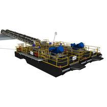 Pompe à boue / électrique / auto-amorçante / centrifuge