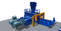 Broyeur à cylindres / horizontal / pour minerai / haute pression
