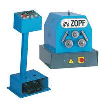 Machine de cintrage hydraulique / de tubes / de profilés / à 3 galets moteurs
