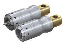 Raccord push-to-lock / droit / pneumatique / en acier inoxydable