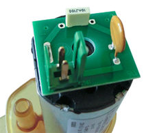 Pompe pour eau chaude / à moteur DC / à entraînement magnétique / centrifuge