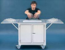 Machine de nettoyage à solvant / à eau / automatisée / pour le verre