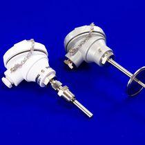 Capteur de température Pt100 / à thermocouple / à bride / fileté