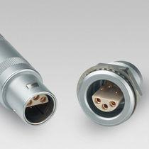 Connecteur radio-fréquence / coaxial / USB / circulaire