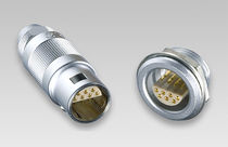 Connecteur RF / coaxial / circulaire / push-pull