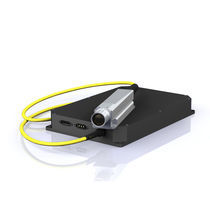 Laser à onde continue / à fibre / vert / compact
