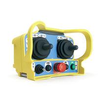 Télécommande radio / à joystick / compacte / multifonction