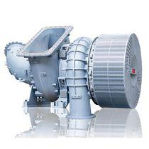 Turbocompresseur moteur à deux temps / compact / mono-étagé / pour moteur à gaz