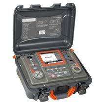 Testeur de la résistance et de la continuité d'isolement / d'installation électrique / de câbles / numérique