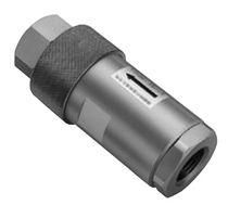 Raccord droit / hydraulique / en acier / à haute pression