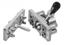 Raccord droit / hydraulique / pneumatique / en laiton