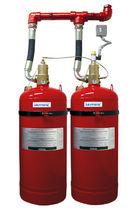 Système d'extinction d'incendie au moyen d'agent propre