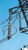 Parafoudre type 1 / haute tension / en ligne / électriquement isolant