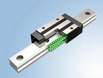 Guidage linéaire à billes / en acier inoxydable / silencieux / à rail