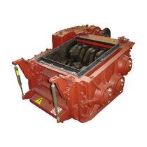 Déchiqueteur à 3 arbres / métal / robuste