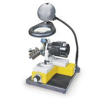 Affuteuse d'outils de foret / manuelle / entraîné par moteur électrique / à entraînement direct