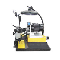 Affuteuse d'outils pour outils de coupe / manuelle / entraîné par moteur électrique / à entraînement direct