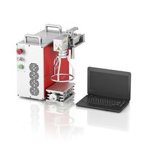 Machine de marquage laser / portable / continue / compacte