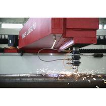 Machine de découpe d'acier / laser / CNC / pour tube en acier rainuré