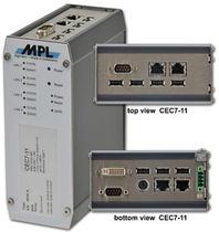 Ordinateur embarqué / Intel® Atom / Ethernet / compact