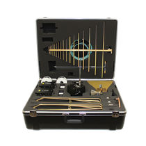 Antenne radio / log-périodique / durcie / compacte