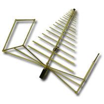 Antenne à large bande / log-périodique / biconique / durcie