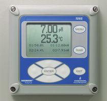 Analyseur d'oxygène / de liquides / de pH / de conductivité
