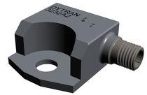 Accéléromètre piézoélectrique / biaxial