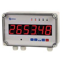 Compteur volumétrique / numérique / électronique / pour montage en panneau