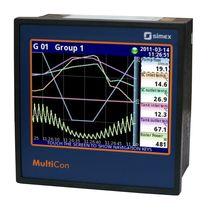 Enregistreur de données de courant / Modbus / avec écran / multi-canaux