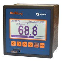 Enregistreur de données de température / USB / avec écran / multi-canaux