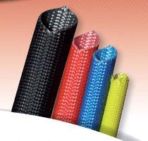 Gaine isolante tressée / flexible / fibre de verre / de protection