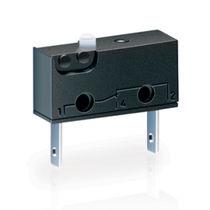 Micro-rupteur à levier / unipolaire / action momentanée / subminiature
