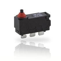 Micro-rupteur à levier / unipolaire / DC / scellé