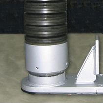 Support antivibratoire cylindrique / en acier / amortisseur à ressort