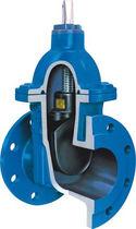 Vanne à opercule / à commande pneumatique / de distribution / pour eaux usées
