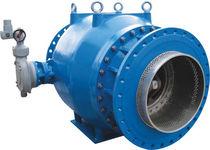 Vanne à pointeau / à commande hydraulique / de régulation de débit / pour l'eau