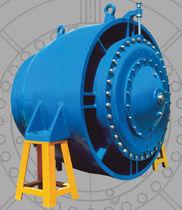 Vanne à commande électrique / de régulation de débit / pour l'eau
