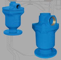 Vanne à commande pneumatique / de distribution / pour l'eau / 2/3 voies